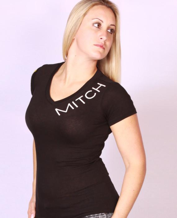 "MITCH ""Yellow Sq"" ladies tee"