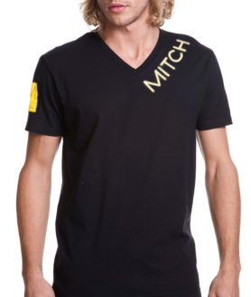 202820 MITCH yellow sq_black vneck_front-web 2